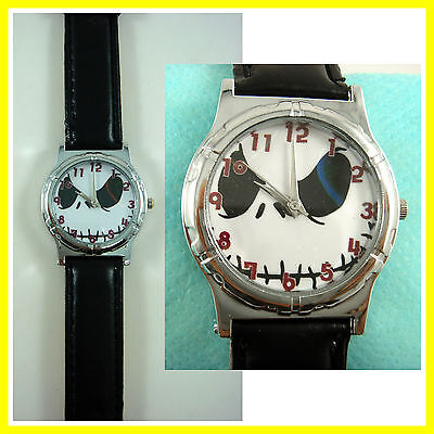 NEW Nightmare Before Christmas Jack Face Fashion Wrist Quartz Watch Wristwatch