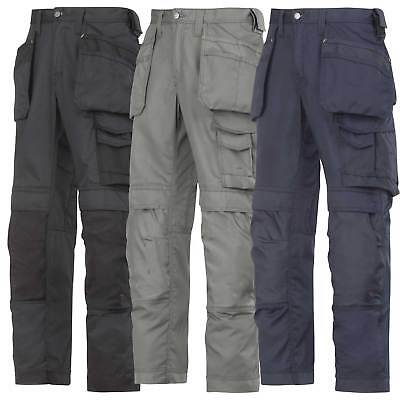 Snickers Lightweight Summer Work Trousers with Kneepad and Holster Pockets-3211