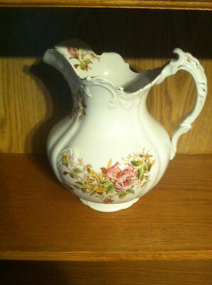 EMPIRE POTTERY June Roses  PITCHER