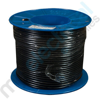 16mm Black Building Wire Electrical Cable NEW 100mtrs