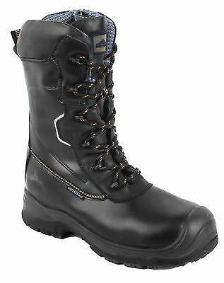 Portwest Leather Traction 10 inch Waterproof Safety Boots Anti Slip 5-13 FD01