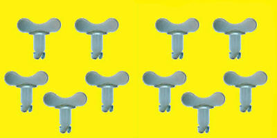 Quick Turn Winged Head Button Buttons 7/16 .500in 10 pk Steel Dzus Fastner
