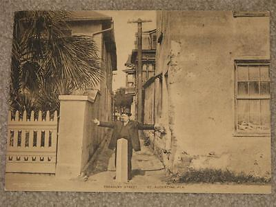 The Sepia Albertype Card (Oversize) -Treasury St. St. Augustine Fla.