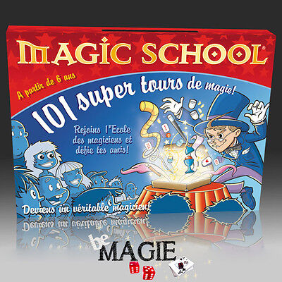Coffret Magic School Junior - 101 tours - OID