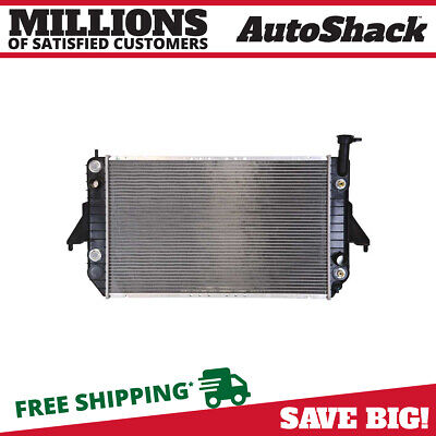 New Direct Fit Complete Aluminum Radiator fits 96-05 GMC Safari Chevy Astro 4.3L