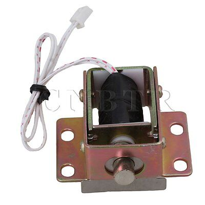 File Cabinet Door Electric Lock Assembly Solenoid DC 6V 0.35A Cylindrical latch