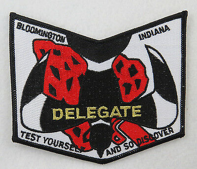 "OA Lodge 296 Nayawin Rar X2 NOAC02; ""DELEGATE""; Nighthawk over Arrowhead [D1417]"