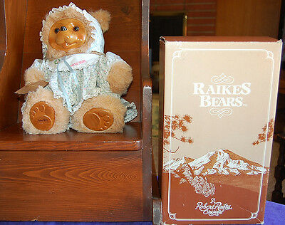 Robert Raikes Bears Susie #17008 Limited Edition 1988