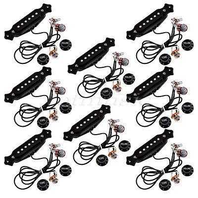 8pieces Last High-quality pre-wired pickups acoustic guitar pickups set up