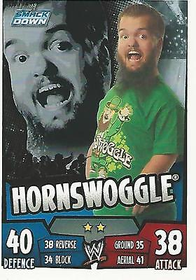 WWE Topps Slam Attax Rumble Trading Card Hornswoggle