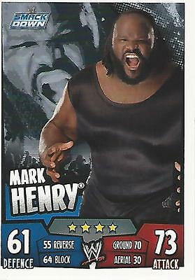 WWE Topps Slam Attax Rumble Trading Card Mark Henry