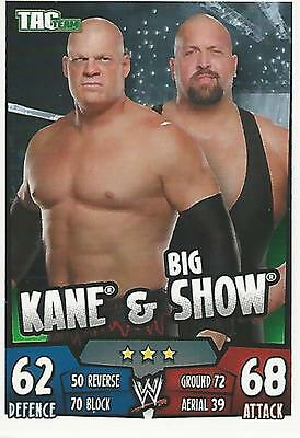 WWE Topps Slam Attax Rumble Trading Card Kane and Big Show