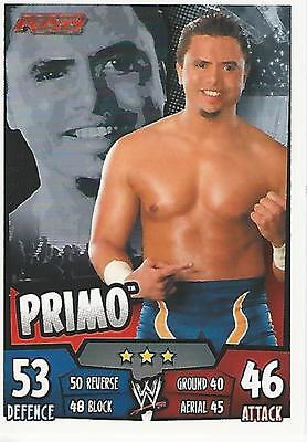 WWE Topps Slam Attax Rumble Trading Card Primo