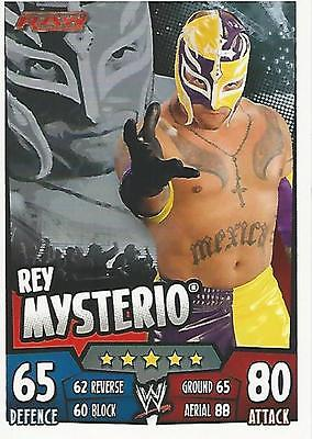 WWE Topps Slam Attax Rumble Trading Card Rey Mysterio