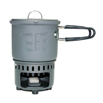 ESBIT Solid Fuel Stove and Cookset, Includes Stove and Pot E-CS585HA