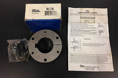 martin sk 1-7/8 hub 697950037783 sprocket QD Pulley bushing power transmission