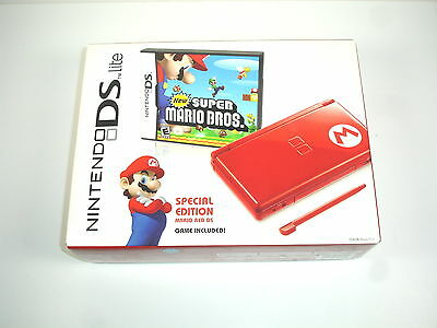 Nintendo DS Lite New Super Mario Bros. Limited Edition System! FACTORY SEALED!
