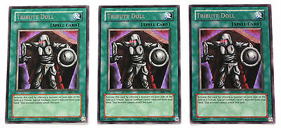 YuGiOh! Yu-Gi-Oh! Tribute Doll x3 Playset MFC-039 Magician's Force NM