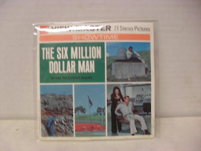 The Six Million Dollar Man Viewmaster (Complete with Booklet, 1974)