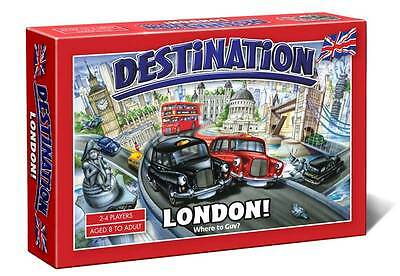 LONDON DESTINATION * BOARD GAME * Travel Edition * NEW/SEALED