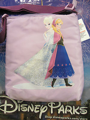 Disney Disneyland Frozen Elsa Anna Tote Shoulder Bag Messenger