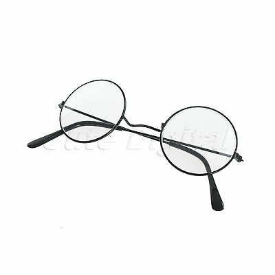 Harry Potter Round Eye Glasses Nerd Bookworm Cosplay Dress Up Costume Party Gift