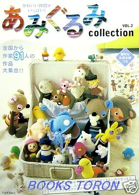 Amigurumi Collection Vol.2 - Pretty Friends /Japanese Crochet-Knitting Book