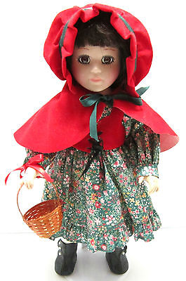 Vintage SEYMOUR MANN Connoisseur Collection LITTLE RED RIDING HOOD Doll