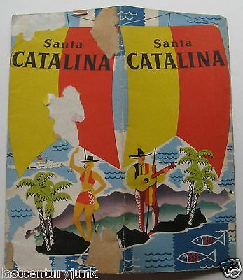 Antique Travel  Booklet  Santa Catalina, California 1941