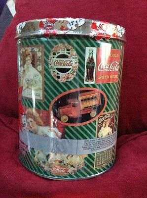 COCA-COLA Brand Tin with Puzzle 700 Pcs Collectible Tin Puzzle Pictured On Tin
