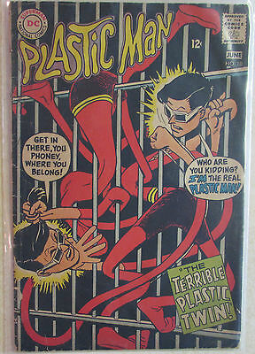 Plastic Man #10 Silver Age DC Comic 1960s -  Combined Shipping Available