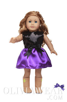 American girl doll clothes handmade dress Party Collection #7 Fits 18 inch Dolls