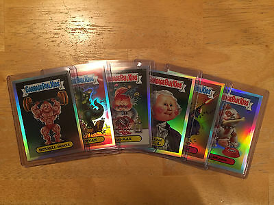 Garbage Pail Kids -- Chrome Series 2 -- Refractor Card -- You Pick