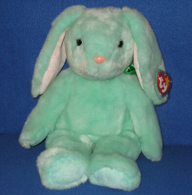 Retired TY HIPPITY the BUNNY BEANIE BUDDY - MINT with MINT TAGS