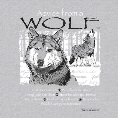 Advice From A Wolfe  Adult  T-Shirt