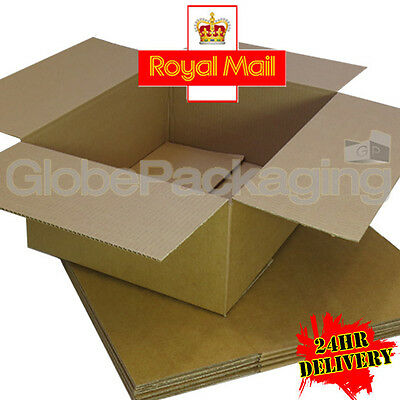 100 x NEW 450x350x160mm ROYAL MAIL MAX SIZE SMALL PARCEL CARDBOARD POSTAL BOXES