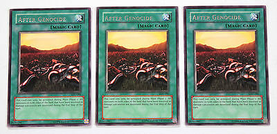 YuGiOh! Yu-Gi-Oh! After Genocide x3 Playset LOD-086 Legacy of Darkness NM