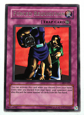 YuGiOh! Yu-Gi-Oh! Forced Requisition PSV-025 Pharaoh's Servant NM