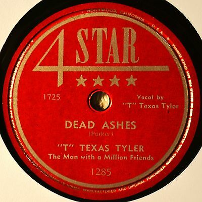 T Texas Tyler Dead Ashes 78 NM NOS New Baby Doll Western Hillbilly 4-Star #B