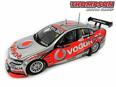 1:18 Jamie Whincup 2010 Team Vodafone VE Commodore V8 Supercar *Minor Box Damage
