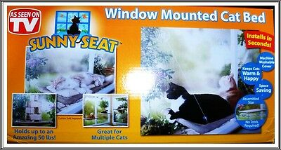 New SUNNY SEAT Window Mounted Pet Cat Bed Save Saving As Seen on TV UK