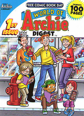 WORLD OF ARCHIE DIGEST - Free Comic Book Day - 2014 - NEW