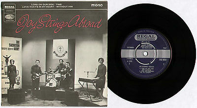 "Joy Strings ~ Joy Strings Abroad ~ 1966 Uk 4-Track Mono 7"" Ep Single"
