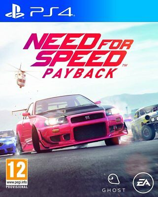 Need For Speed Payback Ps4 En Español Castellano Fisico Nuevo Precintado
