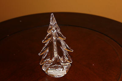 Simon Pearce Vermont Evergreen 4  inch Christmas Tree NEW