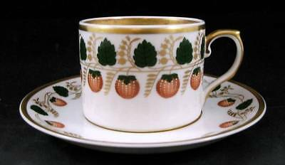 Mottahedeh STRAWBERRY VINE Cup & Saucer SHOWROOM INVENTORY