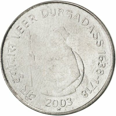 [#86964] INDIA-REPUBLIC, Rupee, 2003, KM #316, MS(63), Stainless Steel, 25, 4.90