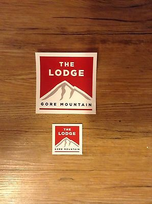 Gore Mountain Lodge Stickers...