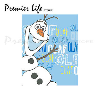 Disney Frozen Olaf Fleece Blanket - Brand New