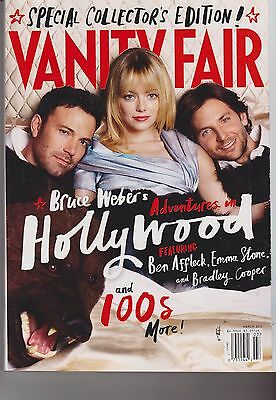 Vanity Fair Magazine March 2013, Affleck, Stone, Cooper, Annual Hollywood Issue.